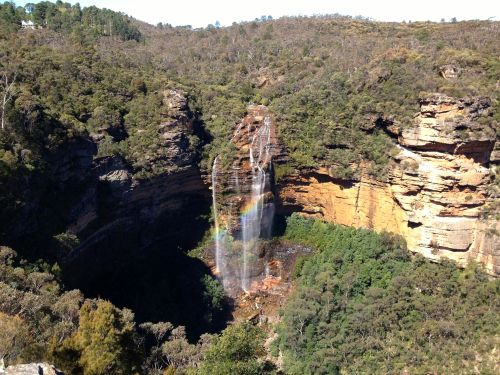 The view from Wentworth Falls