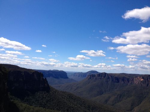 Blue Mountains from Govett's Leap