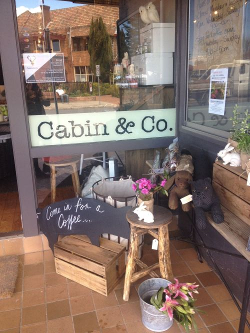 Keep an eye out in Blackheath for Cabin and Co. serving great coffee in the 'snug' at the back of its retail shop.
